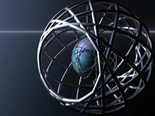 обои Сфера внутри сферы фото