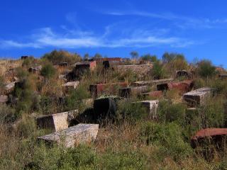 обои Старое кладбище Армения фото