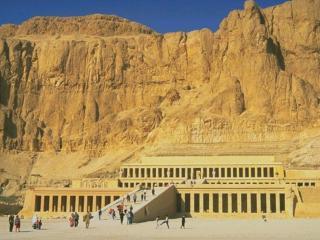обои Заупокойный храм царицы Хатшепсут в Египте фото