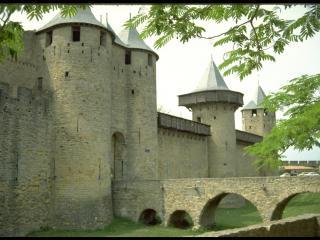обои Вид на крепостную стену фото