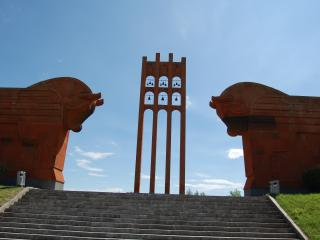 обои Мемориал о памяти жертв Сардарапатской битвы Армения фото