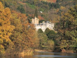 обои Средневековый замок в Шотландии фото
