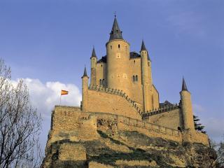 обои Испанский средневековый замок фото
