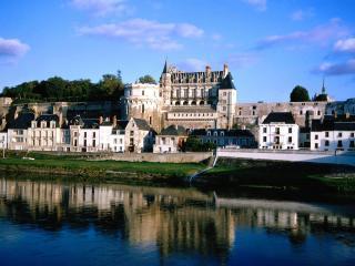 обои Замок Амбуаз во Франции фото
