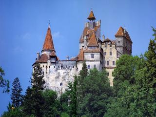 обои Замок Бран в Румынии фото