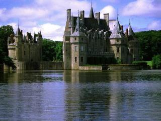 обои Замок Бретэш во Франции фото