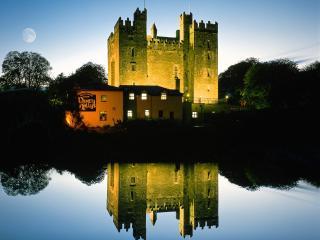 обои Замок Бунратти в Ирландии фото