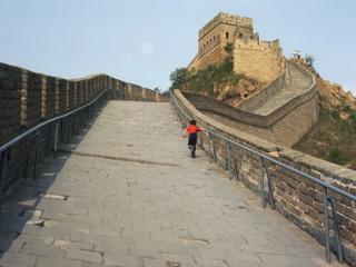 обои Прогулки по Великой Китайской стене фото