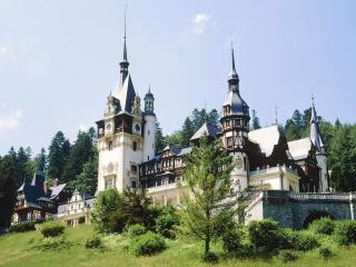 обои Замок Пелеш в Румынии фото