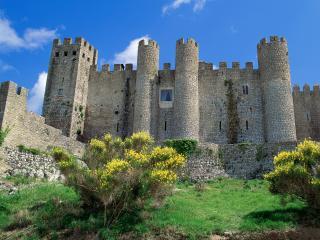 обои Замок Позада в Португалии фото