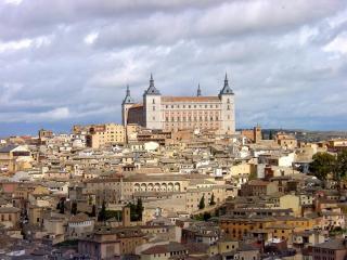 обои Замок Толедо в Испании фото