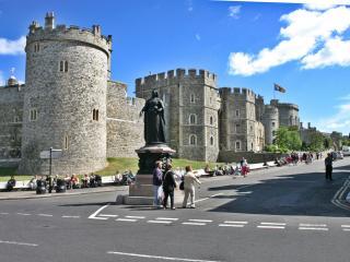обои Перекресток у Виндзорского замка фото