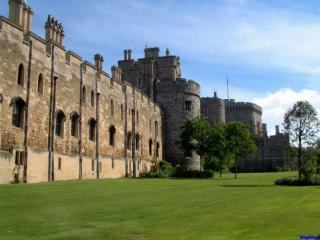 обои Виндзорский замок в Англии фото