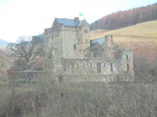 обои Замок Кэмпбелл в Шотландии фото