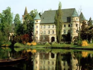 обои Замок Хагенау в Австрии фото