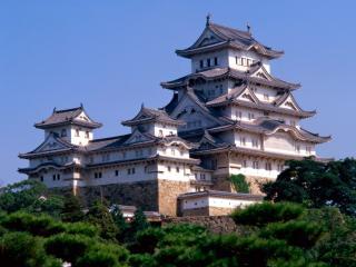 обои Замок Химэдзи в Японии фото