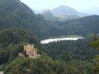 обои Замок Хоэншвангау в Германии фото