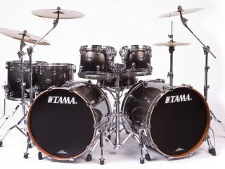 обои Барабаны фирмы Tama,   ударные фото