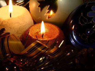 обои Праздничные свечи фото