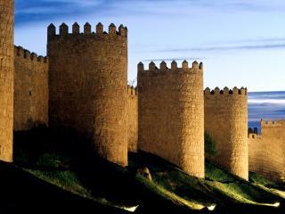обои Замок Авила в Испании фото