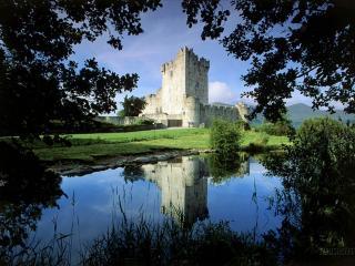 обои Замок Росс,   Национальный парк Килларни,   Ирландия фото