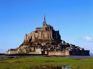 обои Замок Сен-Мишель во Франции фото