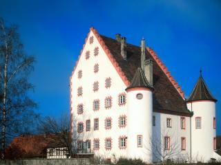 обои Замок Вольфсег в Германии фото