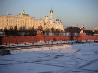 обои Московский Кремль зимой фото