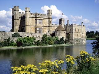 обои Замок Лидс,   графство Кент,   Англия фото