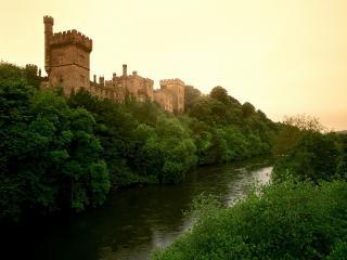 обои Замок Лисмор,   графство Уотерфорд,   Ирландия фото