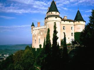 обои Замок Месес во Франции фото