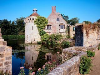 обои Замок Скотни в Великобритании фото