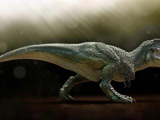 обои Тиранозавр Рекс оскалил пасть фото