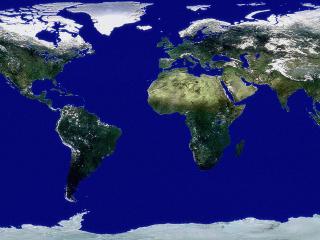 обои Вид из космоса фото