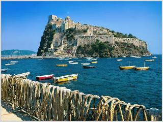 обои Арагонский замок,   остров Искья,   Италия фото