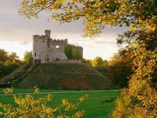 обои Замок Кардифф,   Уэльс,   Великобритания фото