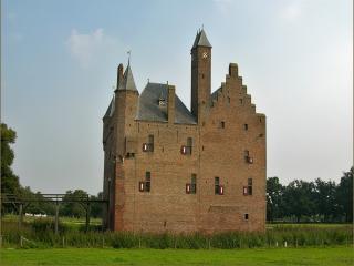 обои Замок Дурменбург в Нидерландах фото