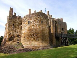 обои Замок Дирлтон в Шотландии фото