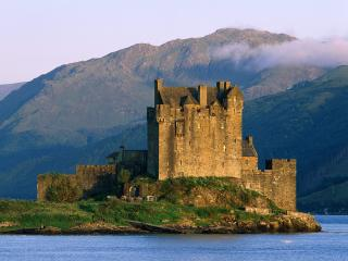 обои Замок в Лох-Дех,   Шотландия фото