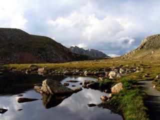 обои Старые горы Европы фото