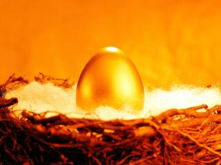 обои Золотое яйцо фото