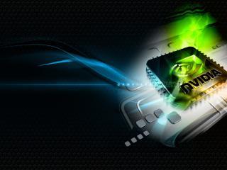 обои Видеокарта  логотип Nvidia geforce,   windows7 фото