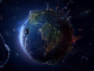 обои Жизнь на планете фото