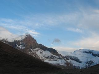 обои Голубое горное небо фото