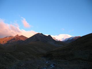 обои Закат в наших горах фото