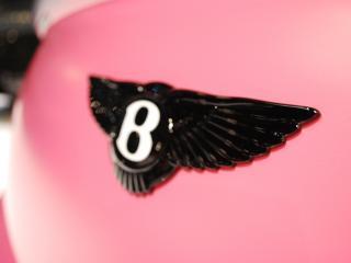 обои Mansory Bentley Continental GT Vitesse Rose 2009 значек фото