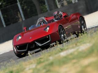 обои Spada Vetture Sport Codatronca Monza вдалеке фото