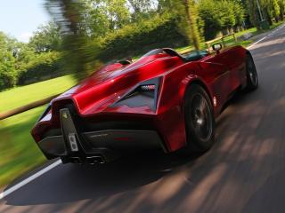 обои Spada Vetture Sport Codatronca Monza вперед фото