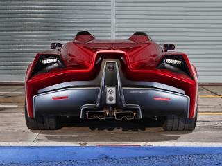обои Spada Vetture Sport Codatronca Monza зад фото