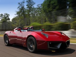 обои для рабочего стола: Spada Vetture Sport Codatronca Monza мчиться